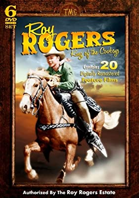 Roy Rogers - King of the Cowboys - 20 Feature Films and more on 6 DVD Set!