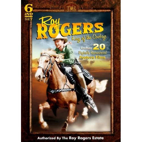 Roy Rogers - King of the Cowboys - 20 Feature Films and more on 6 DVD Set! movie