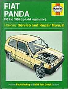 Fiat Panda Service and Repair Manual (Haynes Service and Repair