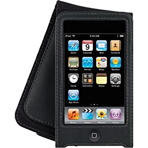 Belkin Lillian Leather Folio Case for iPod touch 2G, 3G (Black)