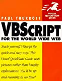 img - for VBScript for the World Wide Web (Visual QuickStart Guide) book / textbook / text book