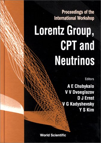 The Lorentz Group, CPT and Neutrinos