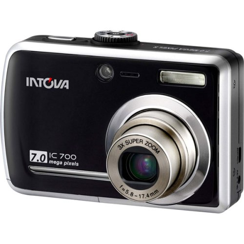 Intova IC-700 7.0MP Digital Camera with Underwater Housing, 3x Optical Zoom, 4x Digital Zoom & 3