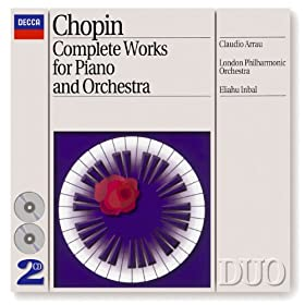 Chopin: Piano Concertos Nos.1 & 2 etc