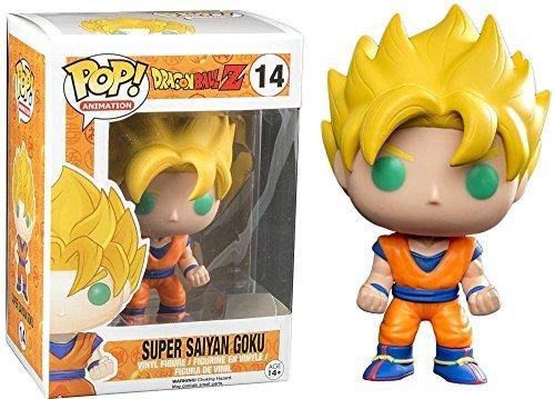 Funko POP! Anime: Dragonball Z Super Saiyan Goku Action Figure New - 1
