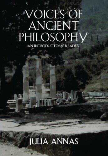 Julia Annas, ed., Voices of Ancient Philosophy
