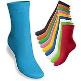 EVERYDAY lot de 10 paires de chaussettes pour enfant kIDS footstar de garçon et fille plusieurs couleurs et tailles au choix - 23-34 celodoro de qualité