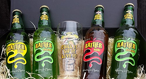 Simply Cornish Hampers Rattler Cider Variety Hamper