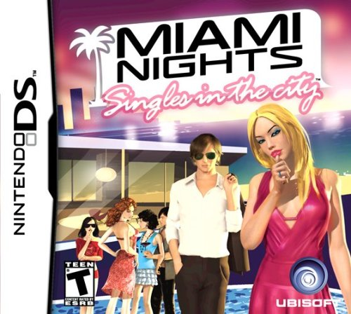 Miami Nights - Nintendo Ds front-327989