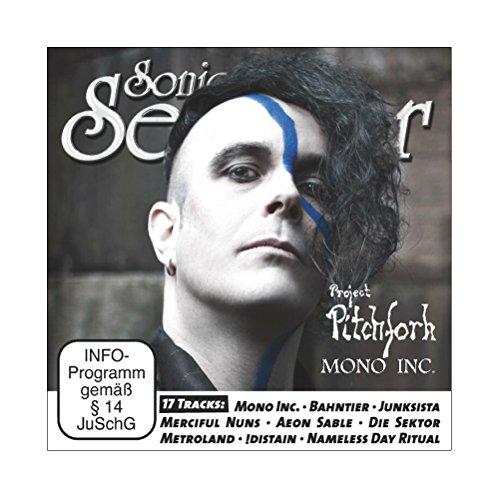 Sonic Seducer 03-2016 mit Mono Inc. Titelstory + CD mit Song von Project Pitchfork + 16 weitere Tracks, Bands: ASP, Blutengel, Beyond The Black u.v.m.