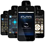 New Potato Technologies FLPR Universal Remote Control for iPhone, iPod Touch and iPad - Software - Retail Packaging - Black