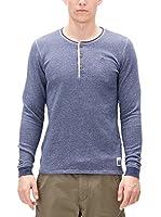 s.Oliver Camiseta Manga Larga (Azul)