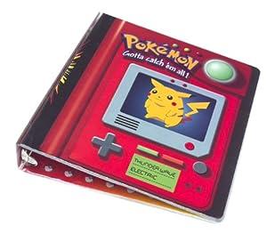 Pokemon Trading Card 3-ring Binder: Pikachu
