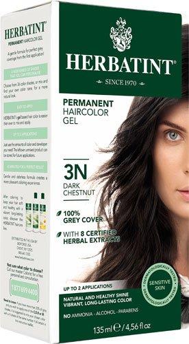 Herbatint Permanent Herbal Haircolour Gel 3N Dark Chestnut -