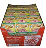 Nissin the Original Cup Noodles Chicken Flavor Noodle Bowls Twenty-four 2.5 Ounce Cups