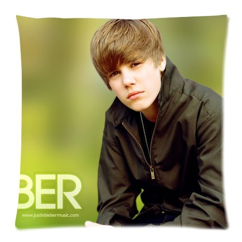 Butuku Justin Bieber Zippered Throw Pillow Cases Cover Cushion Case 18X18 (Two Sides) front-1052070