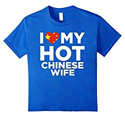 I Love My Hot Chinese Wife Cute China Native Relationship T-Shirt from Always Awesome Marriage