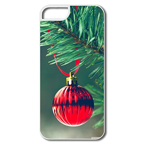 Christmas Red Ball Pc Hot Case For Iphone 5/5S