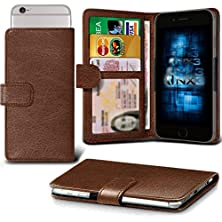 buy (Brown) Lava Iris Atom 2X Adjustable Spring Wallet Id Card Holder Case Cover Onx3