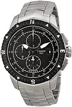 Tissot T-Navigator Black Dial Men's Watch