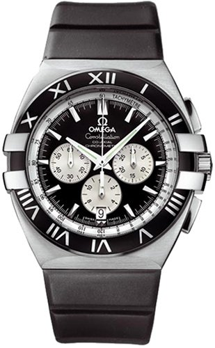 Omega Men's 1819.51.91 Constellation Double Eagle Chronometer Chronograph Watch