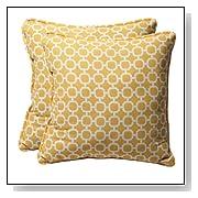 Decorative Geometric Toss Pillows Set of 2