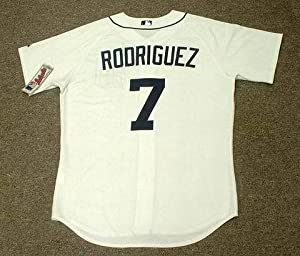 IVAN RODRIGUEZ Detroit Tigers Majestic Athletic AUTHENTIC Home Baseball Jersey, 52/2XL