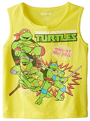 Teenage Mutant Ninja Turtles Little Boys' Turtles Group Tank