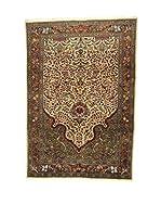 Eden Carpets Alfombra Tabriz 50 Beige/Multicolor 290 x 202 cm