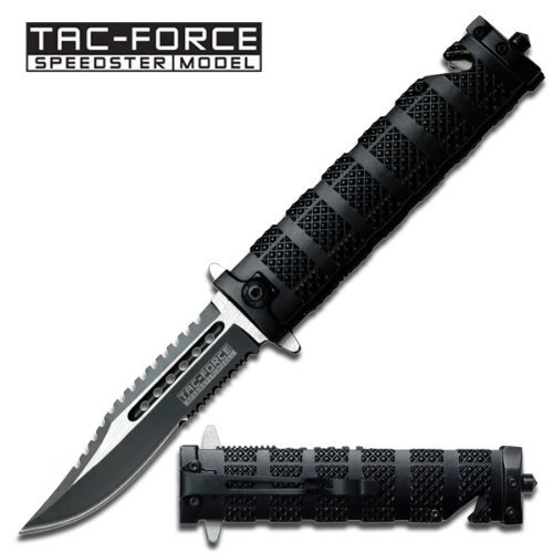 Tac Force TF-710BK Assisted Opening Folding Knife 5-Inch Closed