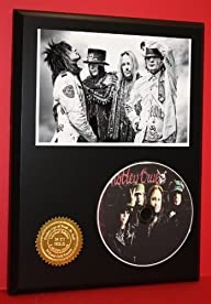 Motley Crue Limited Edition Picture Disc CD Rare Collectible Music Display ***FREE USA PRIORITY…