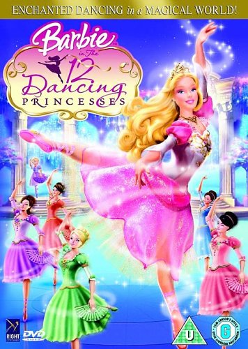 Barbie In The 12 Dancing Princesses [DVD]