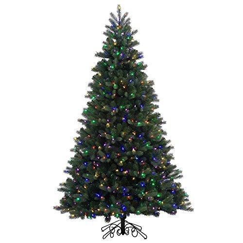 12-Pre-Lit-Noble-Pine-Instant-Shape-Artificial-Christmas-Tree-Multi-LED-Lights