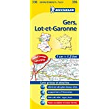 Carte DPARTEMENTS Gers, Lot-et-Garonne