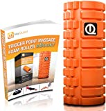 Foam Roller WITH FREE FOAM ROLLER EXERCISE eBOOK - The Best Muscle Roller For Physical Therapy & Trigger Point Massage - Pain Relief For Your Sore Back, Neck & IT Bands - Risk Free Money Back Guarantee, Only On Amazon!