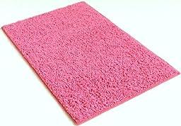 Bubble Gum Pink - 5\'x8\' Custom Carpet Area Rug
