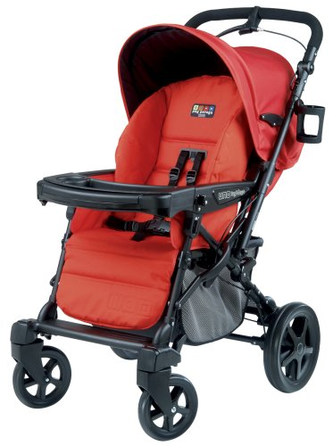 Peg Perego Uno Convertible Carriage To Stroller System In Tango front-373029