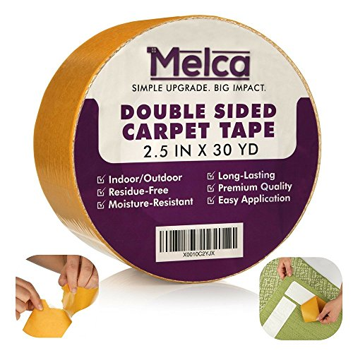 Melca Ds Ct Double Sided Tape For Carpet Rug Heavy Duty
