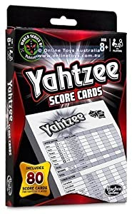 Yahtzee 80 Score Cards (2 Pack)