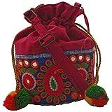 Stylocus Potli Sling Bag (Multicolor)
