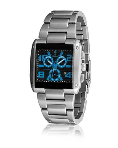 Bassel Reloj con movimiento cuarzo suizo CR4028A Plateado 42  mm
