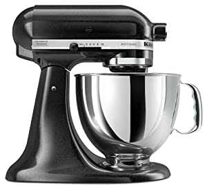 KitchenAid KSM150PSCV Artisan Series 5-Quart Mixer, Caviar