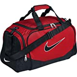 Nike BA3234 Brasilia 5 Small Duffel Grip Bag (Red/Black)