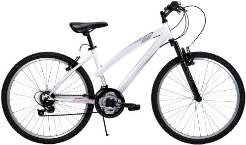 Huffy Ladies ATB Rival Bike (White, 26-Inch)