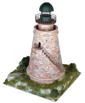 Maquette en céramique - Phare de la Herradura, Almuñecar, Espagne