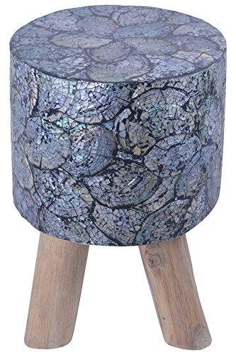 Monolith Teakwood Round Tool Shell (45 Cm X 45 Cm X 45 Cm, Natural)