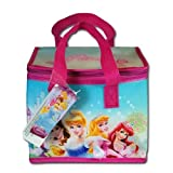 Disney Princess Non-Woven Lunch Bag / Box (Cooler) with Handles and Zipper
