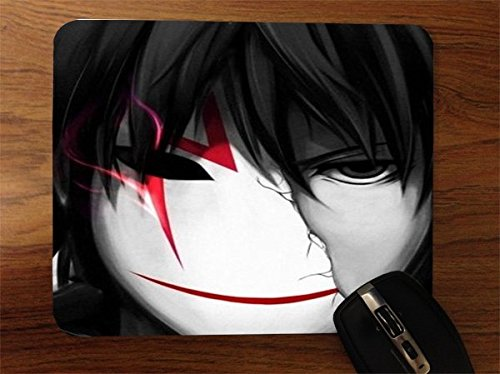 Anime Mask Desktop Office Silicone Mouse Pad