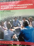 img - for Introduction to Organizational Behavior and Management-Custom Text book / textbook / text book