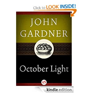 Kindle Daily Deal:October Light, by John Gardner. Publisher: Open Road (September 21, 2010)
